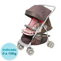 Carrinho De Bebê - - Maranello - Chocolate Rosa Galzeran