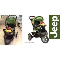 Carrinho Bebe Jeep Liberty Sport X All-terrain Verde/laranja