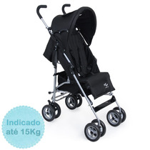 Carrinho De Bebê Bye Bye - Preto Burigotto