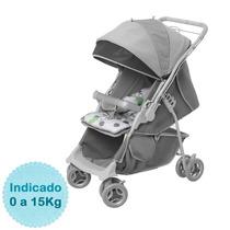 Carrinho De Bebê - - Maranello - Cinza Galzerano
