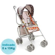Carrinho De Bebê - - Reversível - Girafas Galzerano
