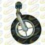 Roda Pneumática Com Garfo Rodízio Aro Alumínio