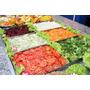 Buffet Salada Self Service Gelado Gelo-x 8 Cubas Frias