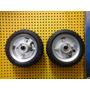 1 Par Roda Pneumática 6 X 2 C/ Rolamento E Pneu - Somos Loja