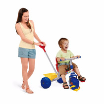 Triciclo Infantil Smart Pop Meninos Azul Brinquedo Bandeiran