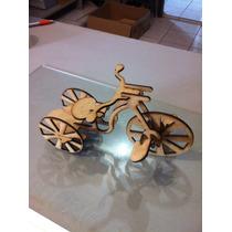 Triciclo Em Madeira Mdf Brinquedo Corte A Laser