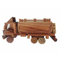 Brinquedo Caminhão Madeira Artesanato Personalizado