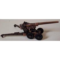 Canhão 155mm Long Tom 1:43 Soldado Militar Arma Metralhadora