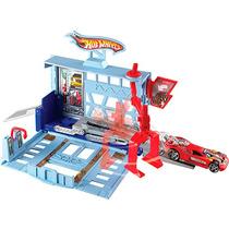 Hot Wheels Desafios Na Cidade Garagem Oficina Mattel