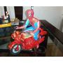 Glasslite Super Moto Homem Aranha Da Ñ Estrela Década De 80