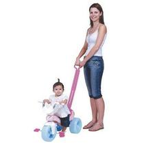 Triciclo Infantil Pepita C/haste Empurrar Removível Xalingo