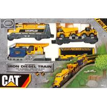 Trem Motorizado Cat Iron Diesel Train Dtc