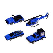 Coleção Mini Veículos Com 4 Peças Frete Grátis