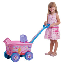 Wagon Peppa Pig Veiculo Para Carregar Brinquedo Multibrink