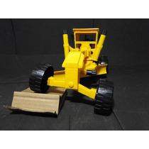 Trator Articulado Motoniveladora Comp=40cm Larg=15cm A=16cm