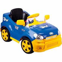 Carro Eletrico Radio Controle Remoto Infantil Sout Car Azul