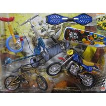 Novos !!!!!!! 02 Skates Dedo Bicicleta Patinete Motocicleta