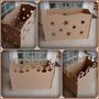 Caixa De Presentes Provençal_mdf Desmontavel_varios_temas