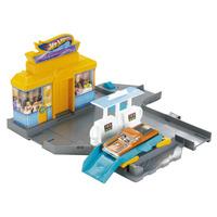Hot Wheels Desafios Na Cidade Estação Pit Stop Mattel