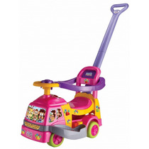Andador Bichos Rosa Com Aro - Magic Toys
