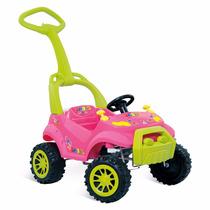 Carrinho De Bebê 2 Em 1 Smart Passeio Pedal Bandeirante