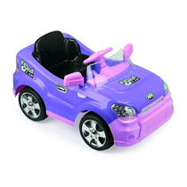 Carro Elétrico Sout Car Com Rádio Controle - Lilas Homeplay
