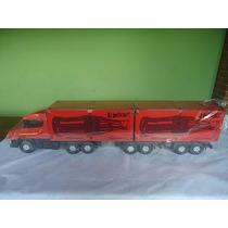 Super Caminhão Bi Trem Com 14 Rodas P.a De Souza Brinquedos.