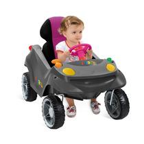 Smart Baby Mini Veículo Comfort Rosa - Passeio E Andadador