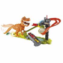 Hot Wheels Ataque Do T- Rex Com Som Mattel X4280