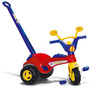 Triciclo Infantil Policial Com Haste E Buzina 1468 Cotiplás
