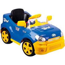 Carro Elétrico Sout Car Com Rádio Controle - Azul - Homeplay