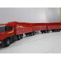 Novo Tritrem Scania 9 Eixos 3 Carretas 1,77 Metros Bitrem