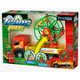 Caminhão Trans Park Com Roda Gigante Brinquedo Premium