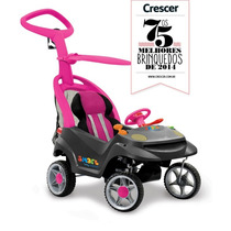 Bandeirante Carro Infantil Smart Baby Comfort (rosa)