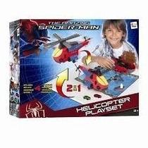 Helicóptero Homem Aranha Transforma Em Cidade ( Gulliver )