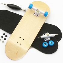 Skate De Dedo Profissional, Madeira, Rolamento, Fingerboard