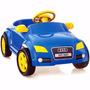 Carro Passeio Pedal Infantil Modelo Audi Tt Azul - Homeplay