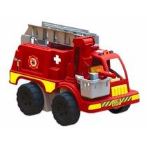 Caminhão Brinquedo Infantil Truck Bombeiro Belltoy