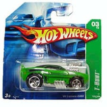 Carrinho Hot Wheels T-hunt Normal - Mod 69 Camaro Z28