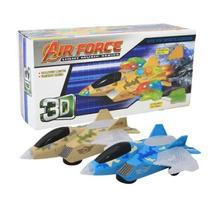 Avião Força Aérea À Pilha