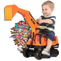 Escavadeira Gigante Infantil Roma Brinquedos-giant Escavator