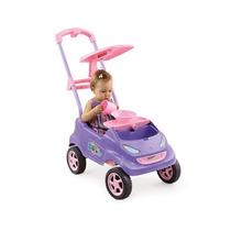 Carrinho Passeio P/ Bebê Baby Car Lilas Homeplay Fretegrátis