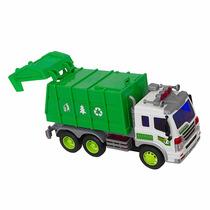 Caminhão De Lixo Com Luz E Som Brinquedo Shiny Toys