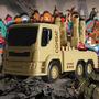 Caminhão Brutale Combat Atira Mísseis-roma Jensen Brinquedos