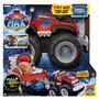 Caminhão Monster Max Tow Truck- Puxa Até 70 Kg - Dtc