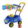 Carrinho Passeio Bebe Baby Car Home Play Acessorios