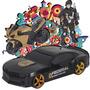 Carro De Polícia+moto+boneco Policial - Adijomar Brinquedos