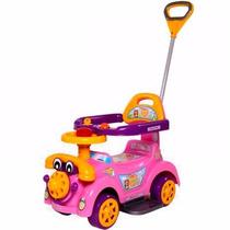 Carrinho Passeio Andador Bebê Criança C/haste Para Empurrar