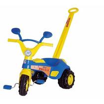 Triciclo Velotrol Infantil Blue Musical Cotiplás Promoção