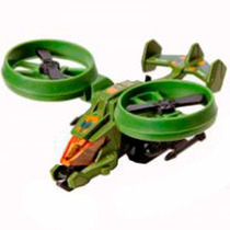 Hot Wheels Avião Skybusters Roto Warrior Mattel
